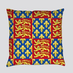 Royal Arms of England and France Everyday Pillow