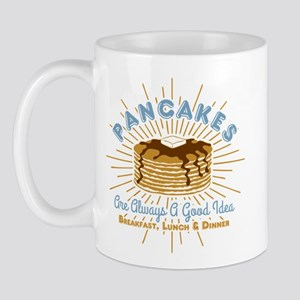 Pancakes Good Idea Mug
