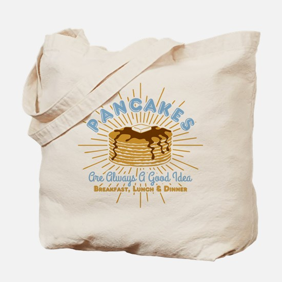 Pancakes Good Idea Tote Bag