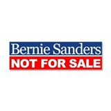 "Bernie not for sale 3"" x 10"""