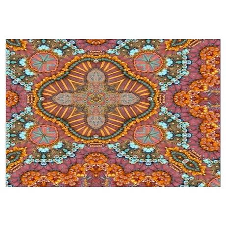 turquoise orange bohemian moroccan  sc 1 st  CafePress & Middle Eastern Wall Art - CafePress