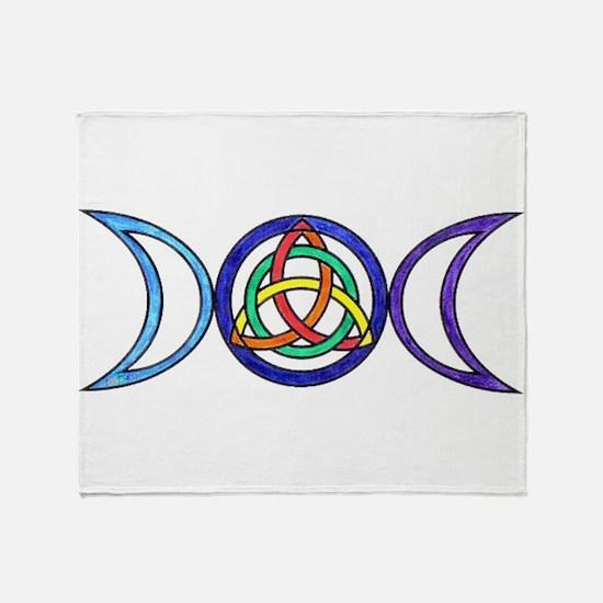 Unique Wicca Throw Blanket