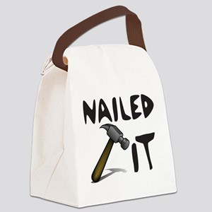 NAILED IT Canvas Lunch Bag