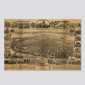 Sacramento, CA. 1891 Postcards (Package of 8)