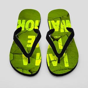 I Am A Lyme Warrior Flip Flops