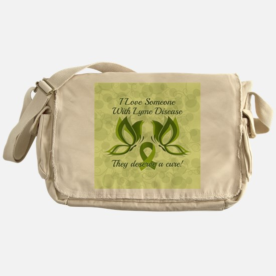 I Love Someone with Lyme Disease Messenger Bag