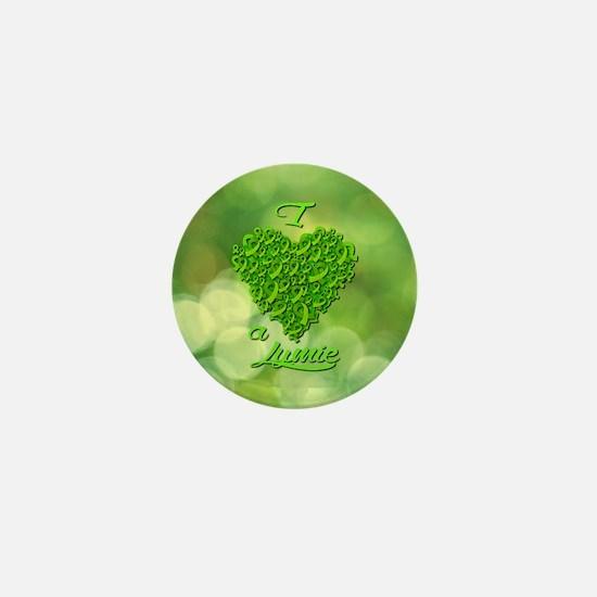 I Love A Lymie Mini Button