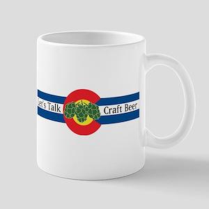 Colorado Let's Talk Craft Beer Mugs