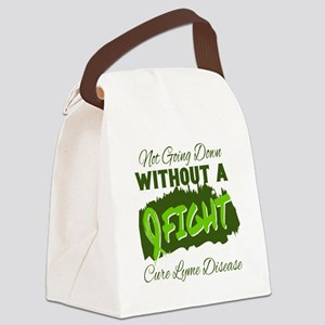Not Going Down Without A Fight - Canvas Lunch Bag