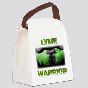 Lyme Warrior Canvas Lunch Bag