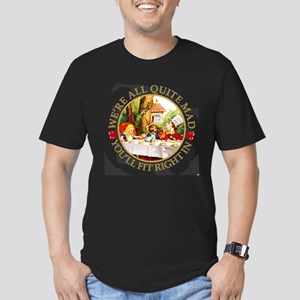 Alice Encounters Talki Men's Fitted T-Shirt (dark)