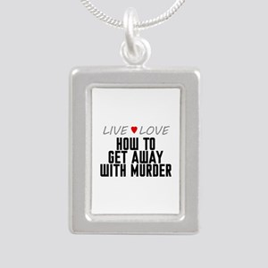 Live Love How to Get Away with Murder Silver Portr