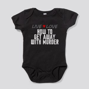 Live Love How to Get Away with Murder Baby Bodysui