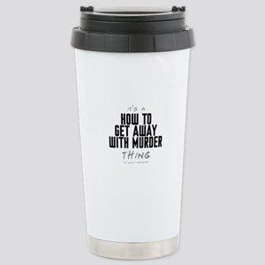 It's a How to Get Away with Murder Thing Ceramic T