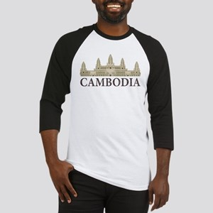 Cambodia Angkor Wat Baseball Jersey