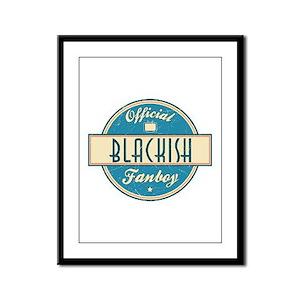 Official Blackish Fanboy Framed Panel Print