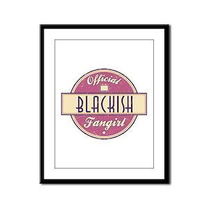 Official Blackish Fangirl Framed Panel Print