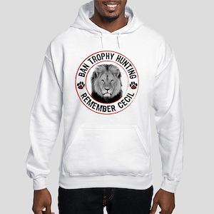 Cecil- Ban Trophy Hunting Hooded Sweatshirt