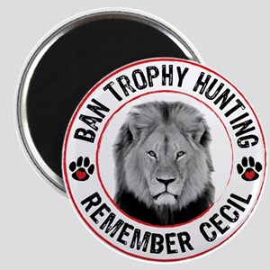 Cecil- Ban Trophy Hunting Magnet