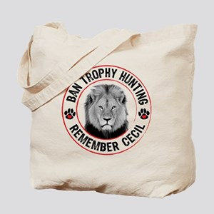 Cecil- Ban Trophy Hunting Tote Bag