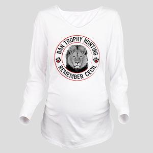 Cecil- Ban Trophy Hu Long Sleeve Maternity T-Shirt