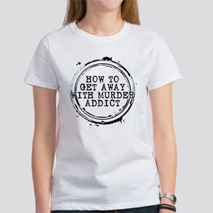 How to Get Away with Murder Addict Stamp Women's T