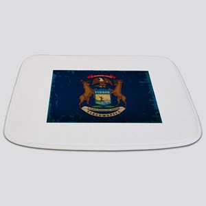 Michigan State Flag VINTAGE Bathmat