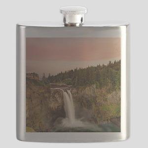 Snoqualme Falls Flask