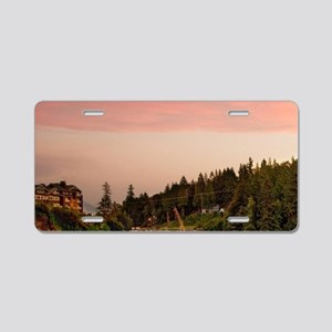 Snoqualme Falls Aluminum License Plate