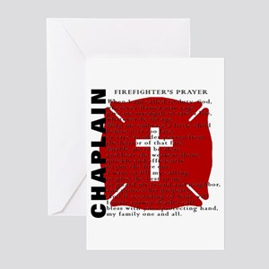 Firefighter Chaplain Greeting Cards