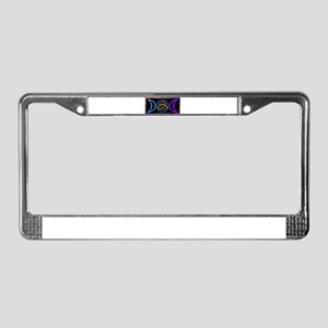 Balanced Graphic License Plate Frame