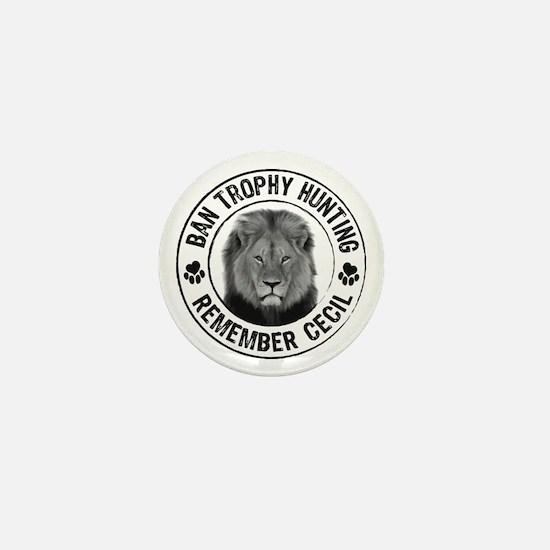 Unique Protect animals Mini Button