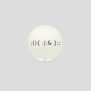 Fork Bomb Mini Button (10 pack)