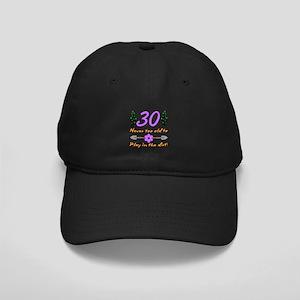 30th Birthday For Gardeners Black Cap