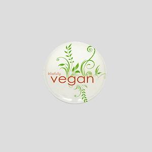 Vegan Bliss Mini Button