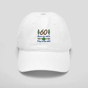 60th Birthday For Gardeners Cap