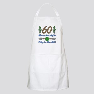60th Birthday For Gardeners Apron