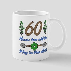 60th Birthday For Gardeners Mugs