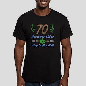 70th Birthday For Gard Men's Fitted T-Shirt (dark)