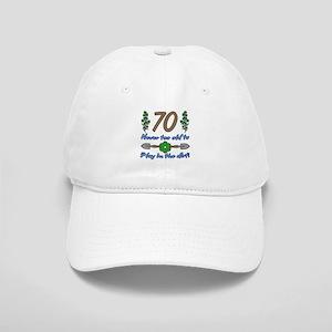 70th Birthday For Gardeners Cap