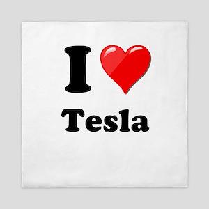 I Love Tesla Queen Duvet