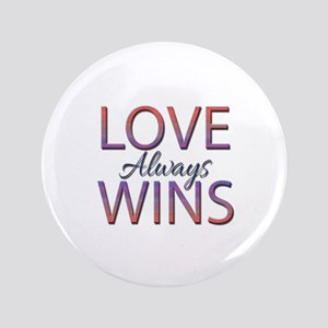 Love Always Wins - Button