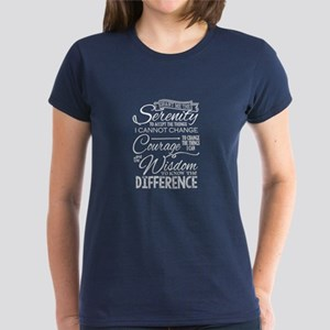 Serenity Prayer (chalk Text) T-Shirt