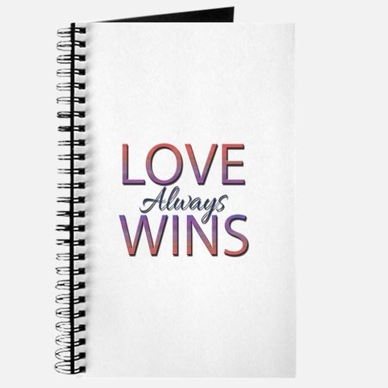 Love Always Wins - Journal