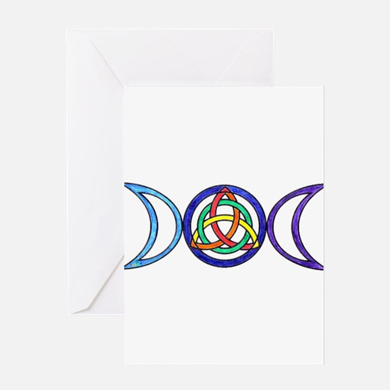 Funny Wiccan and witchcraft Greeting Card