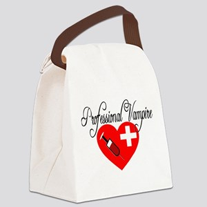 Professional Vampire Canvas Lunch Bag