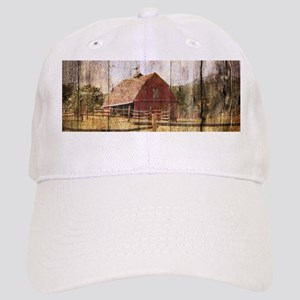 western country red barn Cap