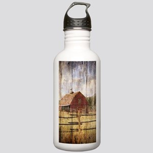 western country red ba Stainless Water Bottle 1.0L