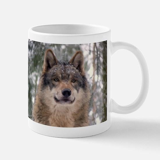Wolf in Woods Mug