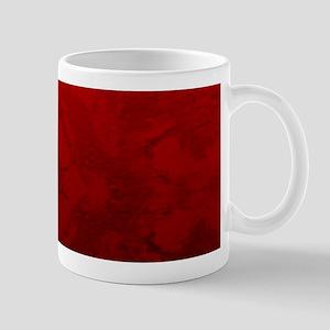 Red Satin Design Mugs
